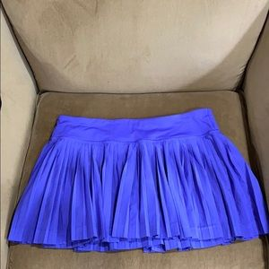 Purple lululemon regular length skirt